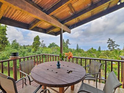 Photo for NEW!Secluded Captain Cook Home w/Deck & Ocean View