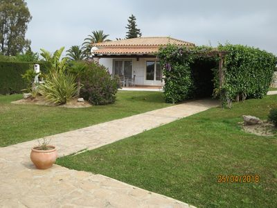 Photo for Comfortable holiday home Aura Maris in a quiet, beautiful garden