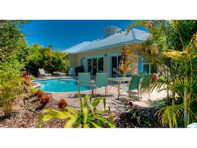 Photo for Coastal Cottage On Holmes Beach With Private Heated Pool!