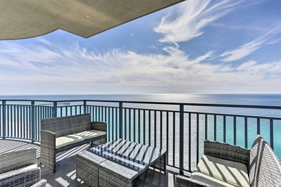 Elevate your Panama City Beach vacation when you book this marvelous condo!