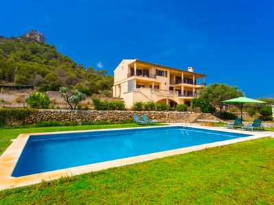 Photo for Villa with private pool, game room, barbecue and spectacular views