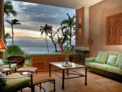 Photo for Ground Floor Residence Just Steps Away From Kapalua Bay Beach!