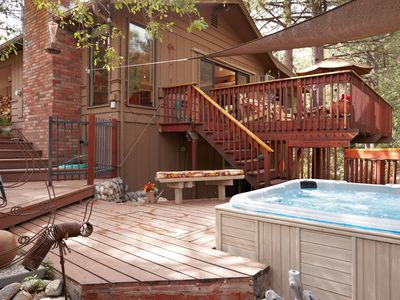 "Photo for Beautiful 'Idyllwild Lodge"" A  Family Friendly Cabin"