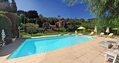 Photo for Old Farm Pool With 19 Eme CANNES 1km from Palais 5, 350 Wed, great Deco