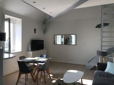 Photo for Beautiful fully equipped apartment 2 to 4 people downtown Pornic