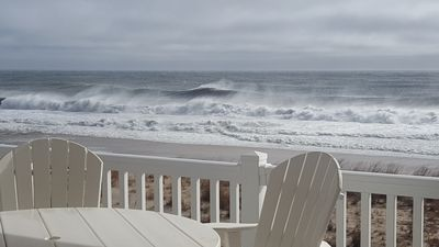 Surf's Up!  View from our deck.