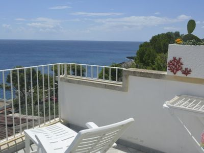 Photo for Apartment Sun & Sea terrace in Castro - 4 persons, 2 bedrooms