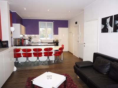 Photo for Modern first floor apartment close to Ghent city center
