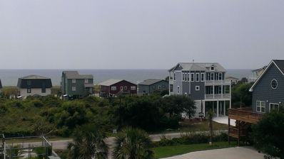 Photo for Kick Back Shack at the Beach - Top floor w/ ocean view, pool, and elevator.