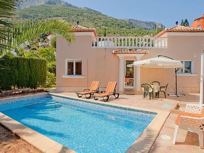 Photo for Modern, well maintained dream villa with sea views, air conditioning, private pool, garden
