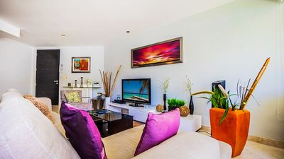 Photo for Ocean View Condo with Private Beach Club!