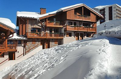 Photo for Apartment Les Montagnettes  in Courchevel, Savoie - 6 persons, 2 bedrooms