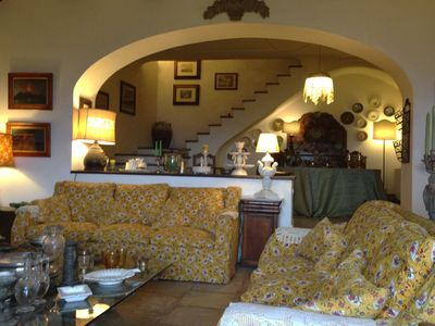 Photo for visit naples and its surroundings in the beautiful villa with swimming pool