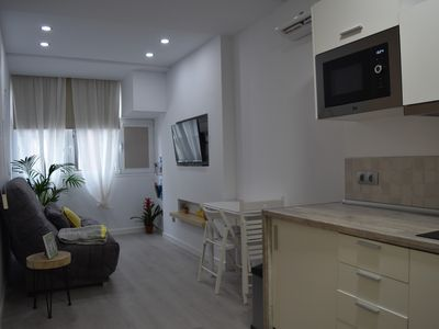 Photo for Aloha G. C. NEW!Apartment 1 min to Las Canteras Beach, WIFI + AirConditioner