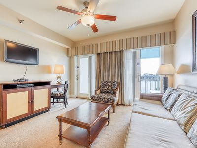 Photo for Classy condo w/ lake view, free WiFi, and access to shared pools & hot tubs!