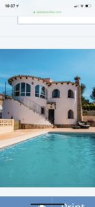 Photo for Beautiful  detached villa on golf course