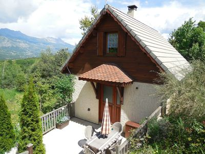 Photo for Independent chalet in the mountains