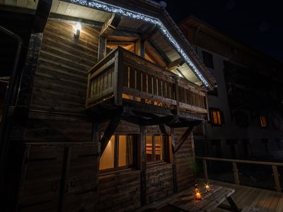Photo for 4 * new chalet at the foot of independent télévillage leading to paradiski