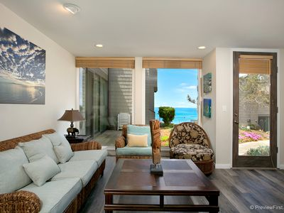 Photo for AWESOME OCEAN VIEWS,  2bd/2ba, private location, steps to the sand!