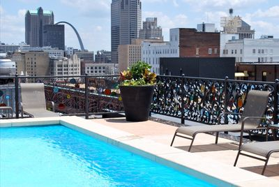 Rooftop pool with amazing downtown views!