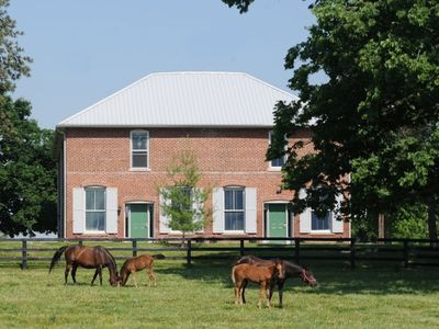 Photo for Renovated Train Station on Thoroughbred Horse Farm