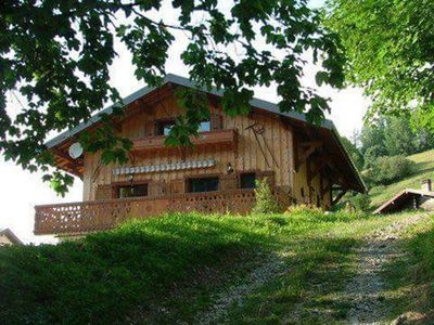 Photo for Haute-Savoie, Bernex, France Ski Chalet. Cosy mountain retreat. Ski in and out.