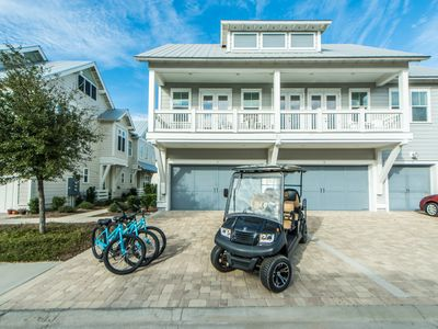Photo for GOLF CART ~ Resort Style Pool! 4 Bikes ~ BRAND NEW ~ Endless Summer at Prominence North 30A