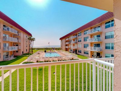 Photo for Waterfront condo w/balcony, courtyard, shared pool & beach access