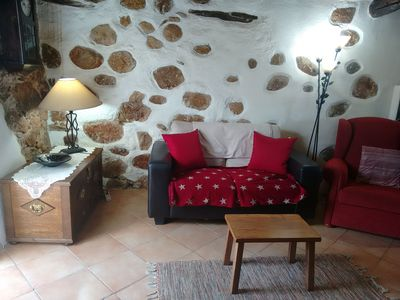 Photo for Converted farm cottage with pretty views, 2kms from Arganil, river beach 1.5kms
