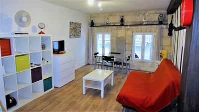 Photo for Studio ideal to do everything on foot 10 minutes from the TGV station
