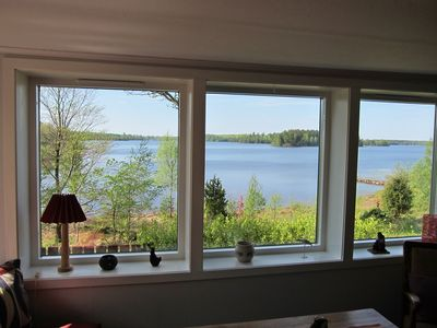 Photo for Cottage by Bolmen with fantastic lake views