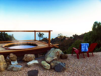 Photo for Romantic Malibu Ranch with Hot Tub and Ocean Views