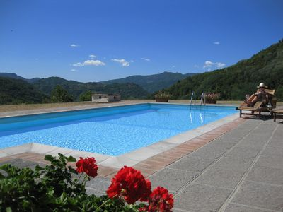 Photo for 6BR Villa Vacation Rental in Bagni Di Lucca, Tuscany