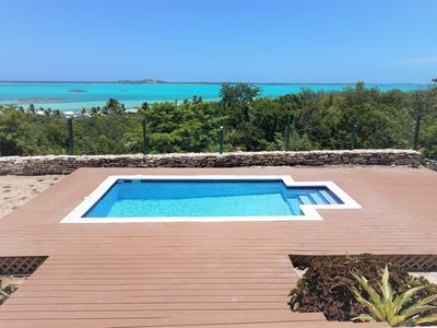 Photo for Panoramic ocean view luxury villa with pool overlooking Palm Bay