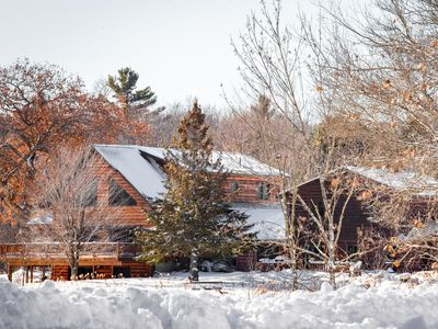 Beautiful Northwoods Lodge Nestled in a Private Whitetail Deer Preserve