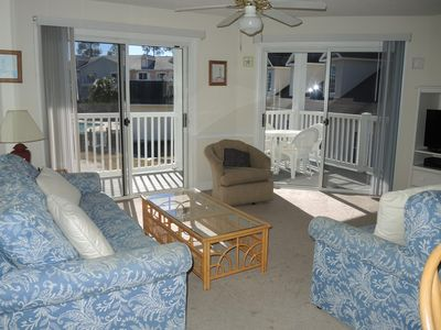 Photo for Full Kitchen, 2 Bedrooms, 2 Bathrooms, 27 Hole Golf Resort, Close to Beach in Calabash, NC(1506)