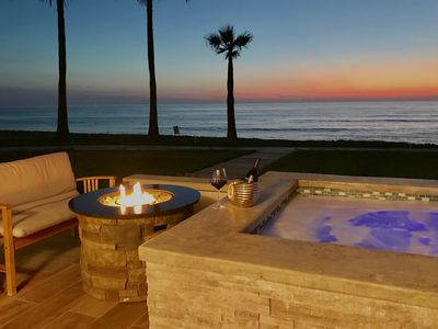 Photo for Ocean front with breathtaking views of the Pacific Ocean!