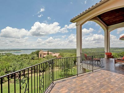 Photo for Luxury Home with Panoramic Lake Views at The Hollows!