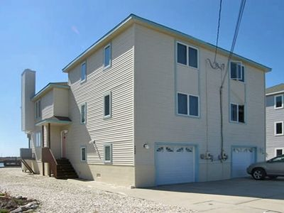 Photo for This cute bayfront town-home lovely views of the inland. 2 decks and a boat slip