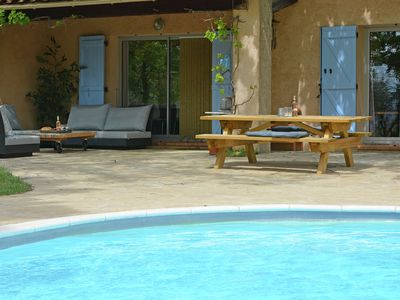 Photo for Very attractive detached villa with its own swimming pool