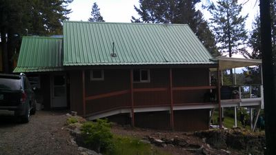 Side entry to cabin