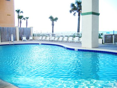 Direct Beachfront. Great View! Low Floor.  Special August Rates 25% Discount!