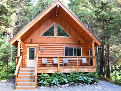 Photo for Alyeska Hideaway Log Cabins - Placer Cabin