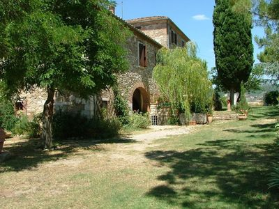 Photo for 1BR Cottage Vacation Rental in Asciano, Toscana