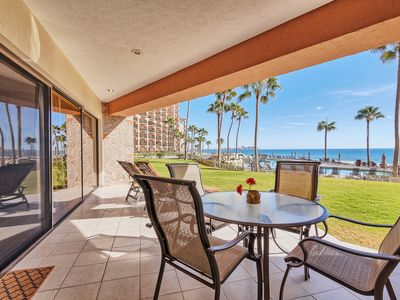 Photo for The Perfect Family Condo..Steps from the Beach !