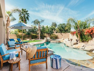 Photo for BoHo Indio Home w/Private Casita | Pool, Firepit & Spa | Sleeps 14 ❤ by AvantStay