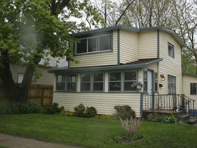 Affordable Cottage Living A Block from Lake Michigan