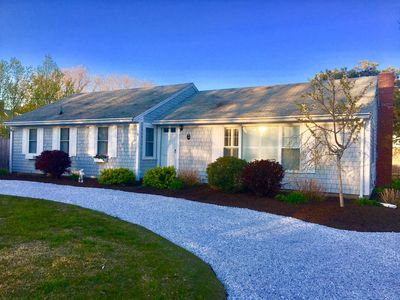Photo for Walk to beach Central AC Updated Cape Cod Home with Gazebo