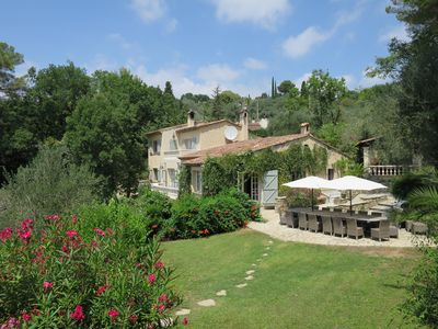 Photo for Gorgeous Country Villa w/pool near Valbonne Village - Sleeps 14