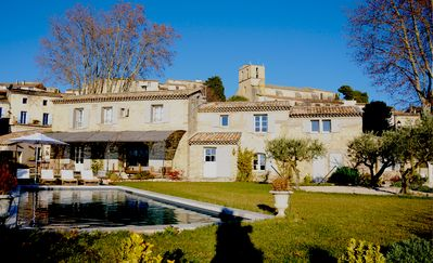 Photo for Le Mas d'Estiéu   fully renovated  Luxury Property Authentic Stone Family house